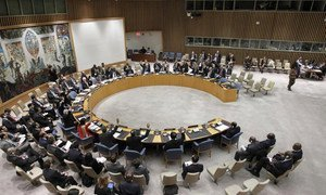 Security Council votes to authorize the deployment of an intervention force to target armed groups in the Democratic Republic of the Congo (DRC).