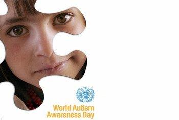 世界提高自闭症意识日。图片:CARE/David Rochkind, Design: Kim Conger