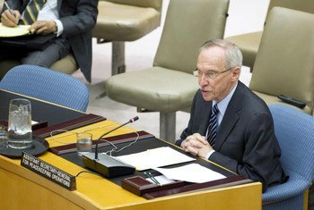 Assistant Secretary-General for Peacekeeping Operations, Edmond Mulet, briefs the Security Council on the situation in Côte d'Ivoire.