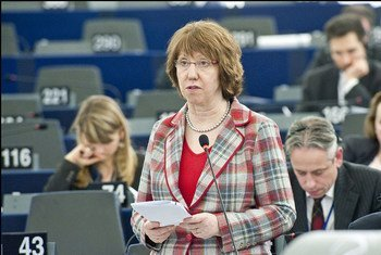 E.U. High Representative for Foreign Affairs and Security Policy, Catherine Ashton, brokered landmark agreement between Serbia and Kosovo reached on 19 April 2013 in Brussels.