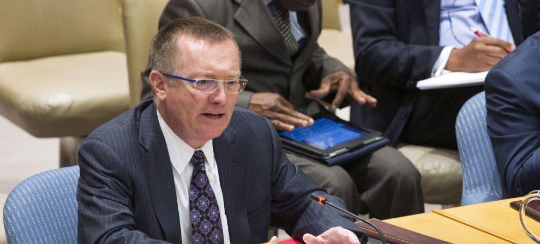 El secretario general adjunto de Naciones Unidas para Asuntos Políticos, Jeffrey Feltman (Foto: Evan Schneider)