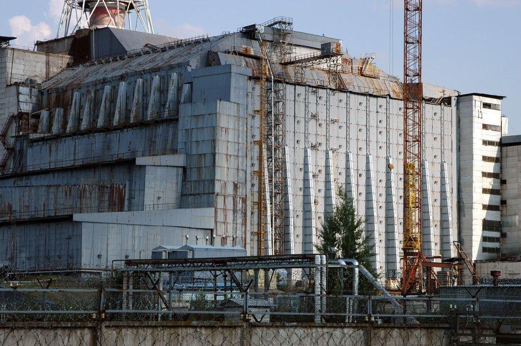 La centrale nucléaire de Tchernobyl en Ukraine.