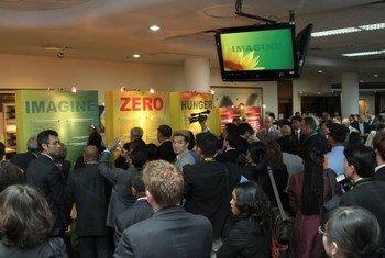 L'ONU lance le Défi Faim Zéro dans la région Asie-Pacifique.