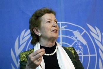 Special Envoy for the Great Lakes Region Mary Robinson.