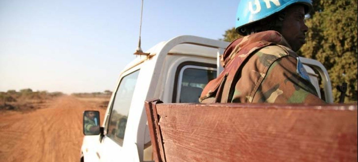 (FILE PHOTO) The UN Interim Security Force for Abyei (UNISFA) is helping to keep the peace.