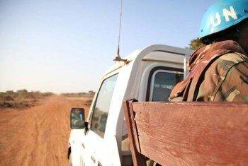 联合国阿卜耶伊临时安全部队正在帮助维持和平。(档案照片)