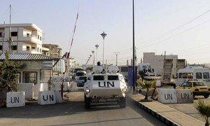 A UNDOF base in the Golan.