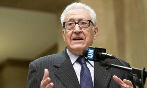 Joint Special Representative for Syria Lakhdar Brahimi.
