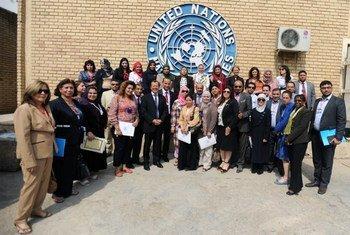 L'ONU récompense le travail de trois journalistes iraquiennes.