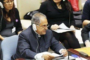 Jose Ramos Horta, le Représentant spécial du Secrétaire général et chef du Bureau intégré des Nations Unies en Guinée-Bissau (BINUGBIS).