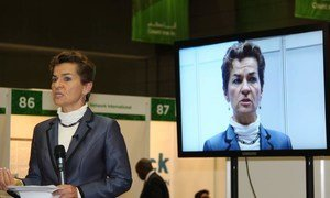 Executive Secretary of the UN Framework Convention on Climate Change (UNFCCC), Christiana Figueres.