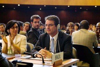 世界贸易组织总干事阿泽维多