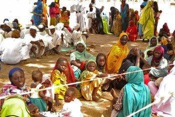 Беженцы в Чаде Фото «Врачи без границ»