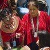 Participantes en el Foro Permanente sobre Cuestiones Indígenas  Foto archivo:  ONU/Rick Bajornas