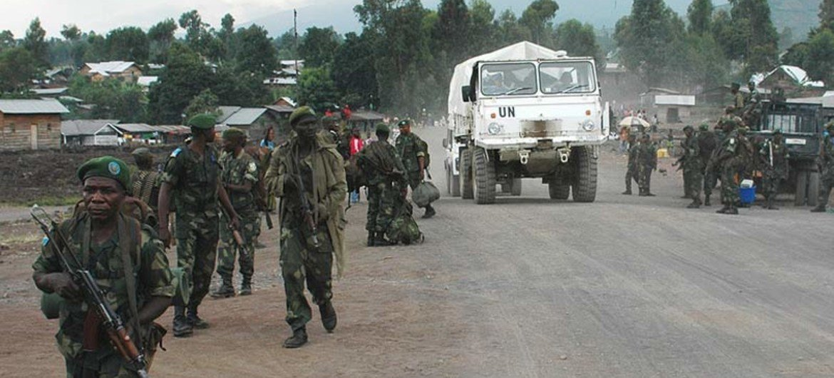 FARDC and MONUSCO reinforce their presence in and around Goma, Democratic Republic of the Congo, following clashes between M23 and national troops.