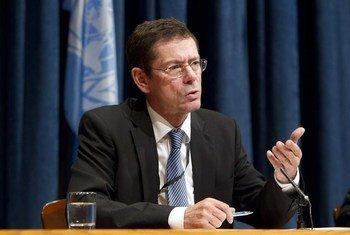Le Sous-Secrétaire général des Nations Unies aux droits de l'homme, Ivan Simonovic. Photo ONU/Rick Bajornas