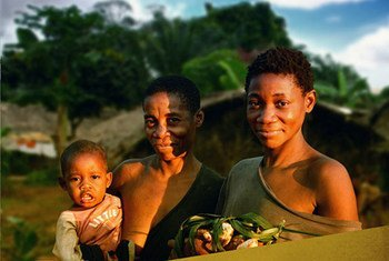 Indigenous forest-dwelling people of the Republic of Congo.