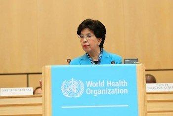 La Directrice générale de l'OMS, Margaret Chan.