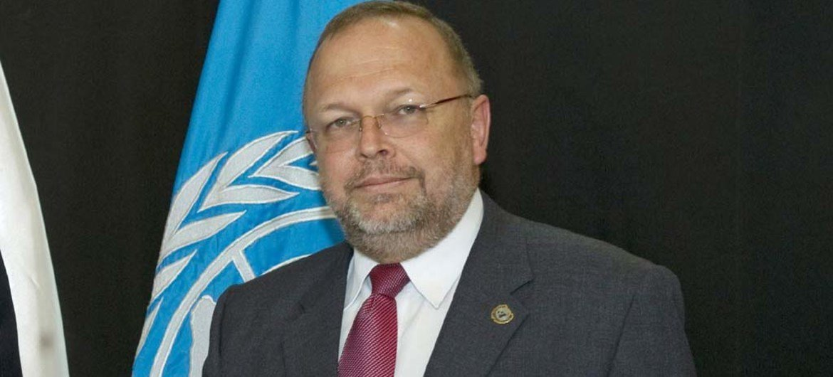 Head of the International Commission against Impunity in Guatemala (CICIG) Francisco Dall'Anese.
