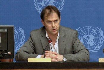 Rupert Colville, porta-voz do Escritório de Direitos Humanos  da ONU.