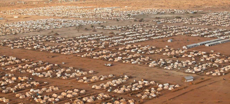 Kambi ya Dadaab nchini Kenya, ni moja ya kambi kubwa zaidi za wakimbizi duniani.