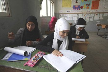 Refugiados palestinos en Libano.