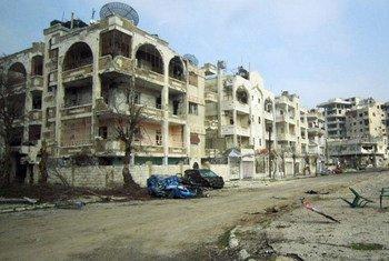 Homs Foto archivo: Atiqul Hassan)