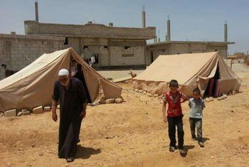 Desplazados sirios (Foto de archivo: ACNUR-A.Blazy)