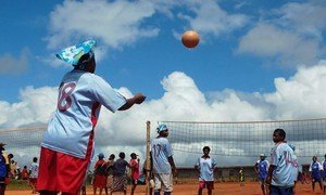 In Papua New Guinea sports help facilitate the integration of refugees into the local community through regular inter-village competitions.