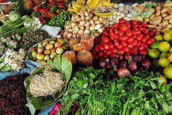 Mercado en Guatemala. Foto: Banco Mundial/Maria Fleischmann
