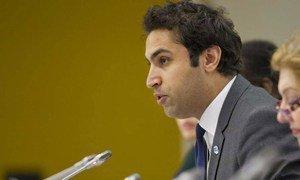 Youth Envoy Ahmad Alhendawi.