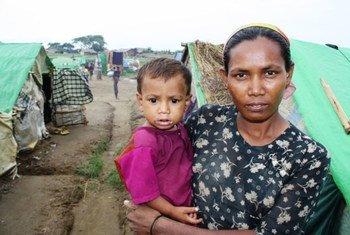 Rohingyas en el estado de Rakhine