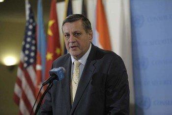 Le Représentant spécial du Secrétaire général pour l'Iraq, Jan Kubis. Photo : ONU / Ryan Brown