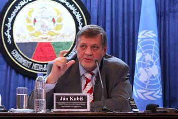 Special Representative and head of the UN Assistance Mission in Afghanistan (UNAMA), Ján Kubiš.