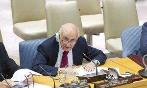 President of the International Criminal Tribunal for the former Yugoslavia (ICTY) Theodor Meron.