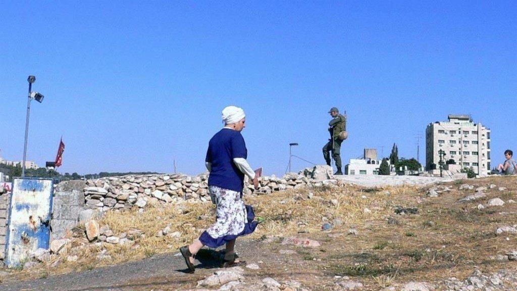 مستوطنة في القدس الشرقية. المصدر: إيرين / أندرياس هاكل