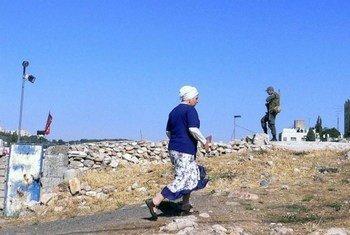 مستوطنة في القدس الشرقية.