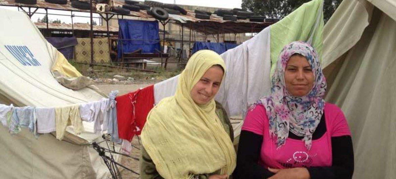 Des Syriennes réfugiées au Liban.