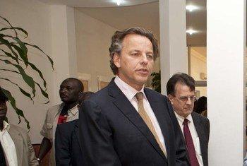 Le Représentant spécial pour le Mali, Bert Koenders.