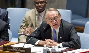 Le Vice-Secrétaire général des Nations Unies, Jan Eliasson. Photo : ONU