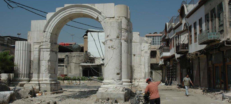 Ciudad Vieja de Damasco. Foto de archivo: UNESCO/Ron Van Oers