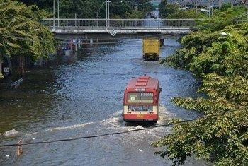 Inundaciones en el sudeste asiatico  Foto archivo:  UNISDR/Brigitte Leoni