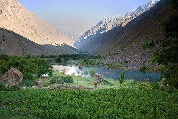 Tajik National Park (Mountains of the Pamirs).