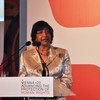 Navi Pillay, UN High Commissioner for Human Rights, addressed opening the Vienna+20 Conference.
