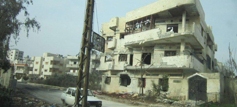 Homs Foto archivo: