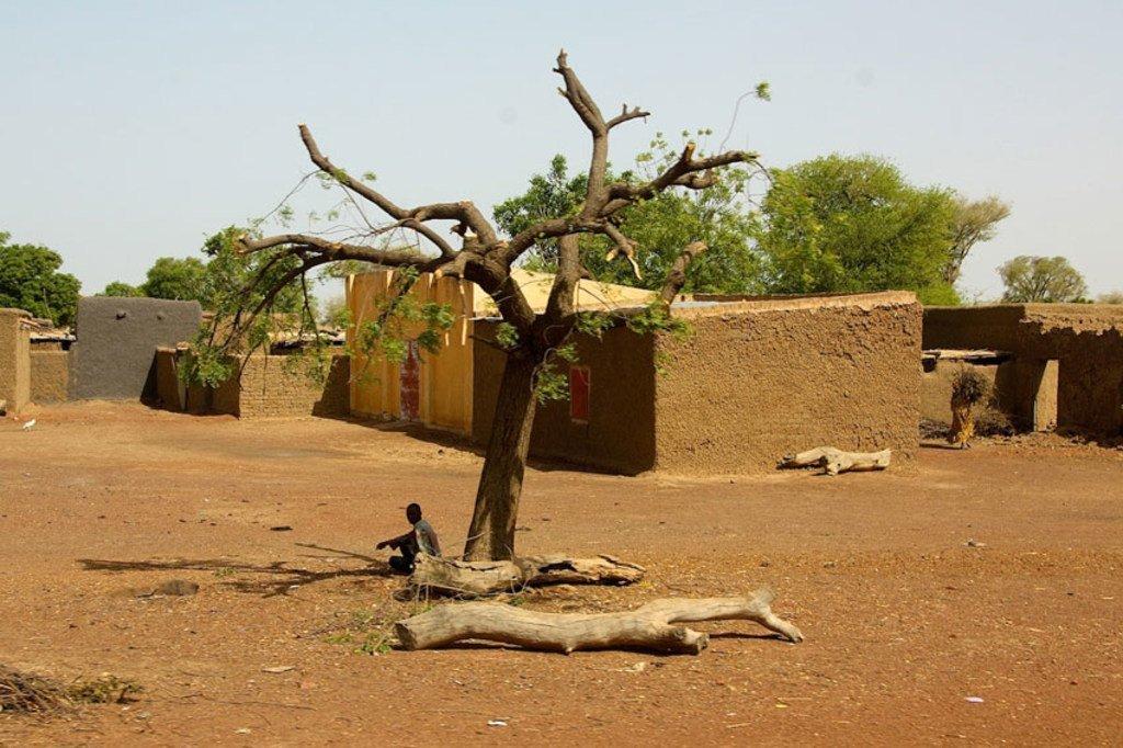 Un village dans la région de Mopti, dans le centre du Mali (archive)