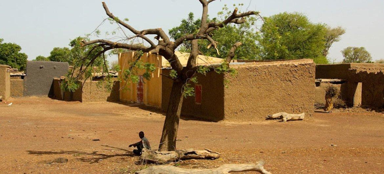 马里南部莫普提地区的一座村庄。