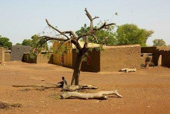 Un village dans la région de Mopti, au Mali (archive)