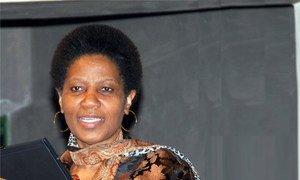 Phumzile Mlambo-Ngcuka, nouvelle Directrice exécutive de l'agence des Nations Unies pour l'égalité des sexes et l'autonomisation des femmes (ONU-Femmes)