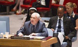 Le Représentant spécial du Secrétaire général des Nations Unies pour l'Afrique de l'Ouest, Saïd Djinnit. Photo ONU/Rick Bajornas